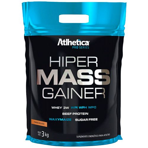 Hiper Mass Gainer Pro Series - 3000g - Athletica
