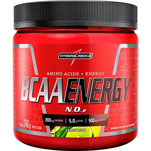 BCAA Energy Powder NO2 5000mg - 240g - IntegralMedica