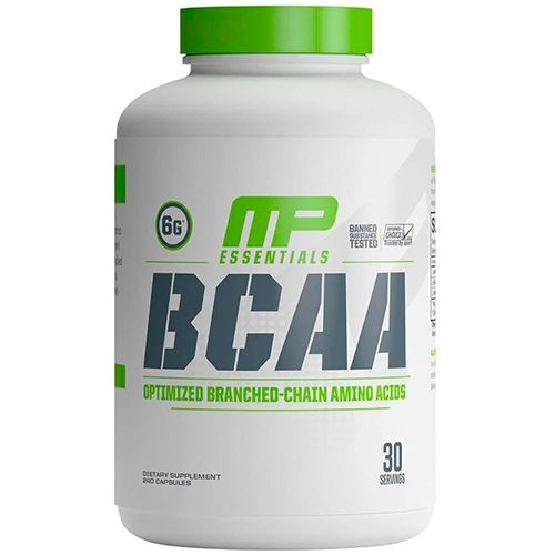 BCAA 3:1:2 MP - 6000mg - 240 Cápsulas - Muscle Pharm