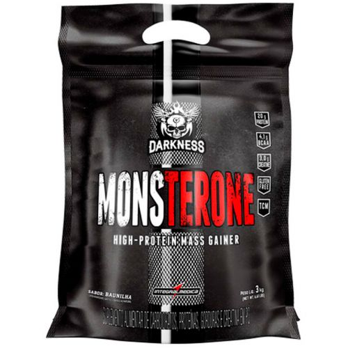 Monsterone High-Protein Mass Gainer Darkness - 3000g - IntegralMedica