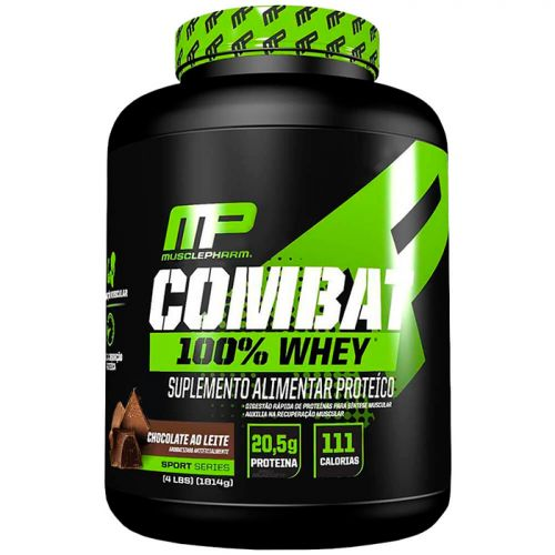 Combat 100% Whey - 1800g - Muscle Pharm