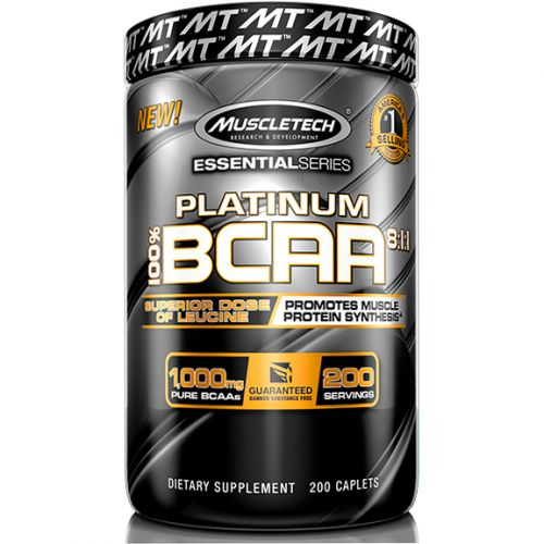 Platinum BCAA 8:1:1 - 1000mg - 200 Tabletes - MuscleTech