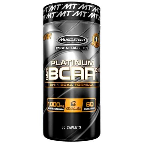 Platinum BCAA 8:1:1 - 1000mg - 60 Tabletes - MuscleTech