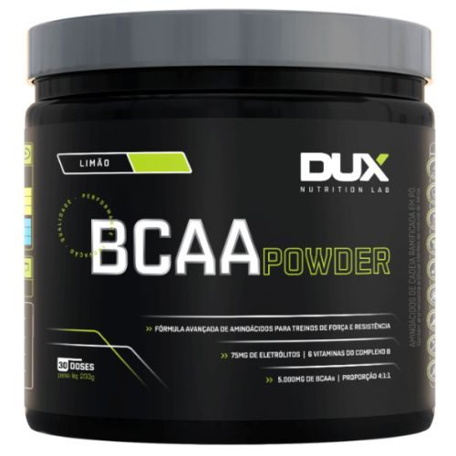 BCAA 4:1:1 Powder 5000mg - 200g - Dux Nutrition
