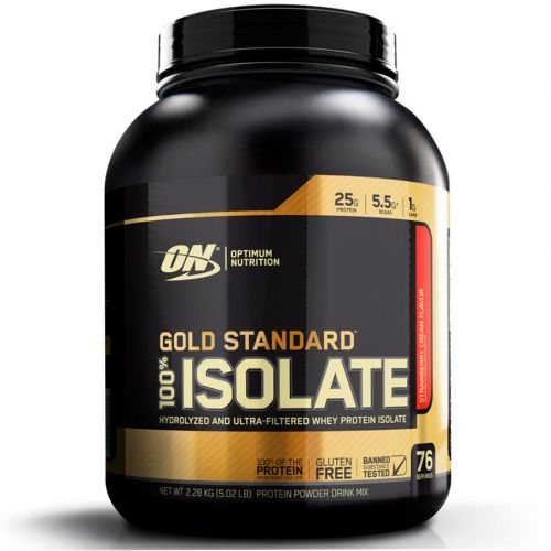 Whey Gold Standard 100% Isolate - 2280g - Optimum Nutrition