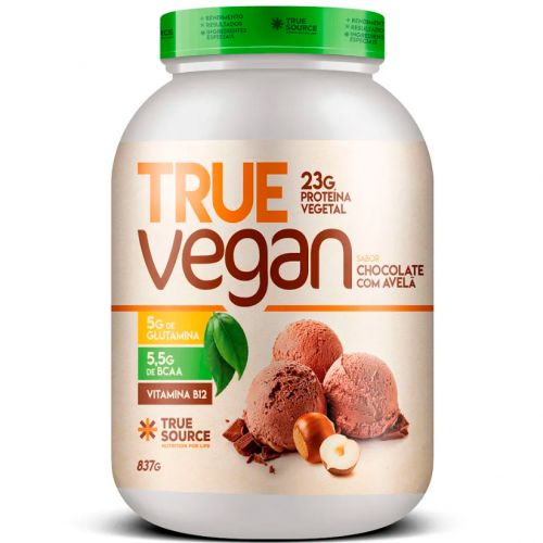 True Vegan - Proteína Vegana Isolada - 837g - True Source