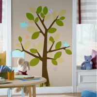 Dotted Tree Giant Wall Decal - RMK1319GM