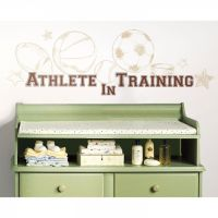 Athlete In Training Wall Decals - RMK1773SCS