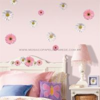 Flower Power Wall Decals - RMK1013SCS