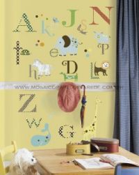 Animal Alphabet Wall Decals - RMK1440SCS
