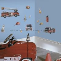 Fire Brigade Wall Decals - RMK1125SCS