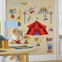 Big Top Circus Wall Decals - RMK1266SCS