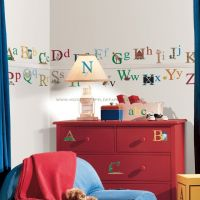 Alphabet Wall Decals - RMK1029SCS