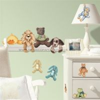 Cuddle Buddies Wall Decals - RMK1023SCS