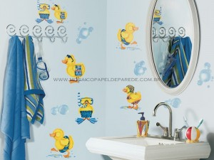 Bubble Bath Wall Decals - RMK1261SCS  - foto principal 1