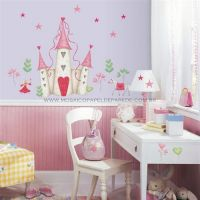 Princess Castle Wall Decals - YH1328M