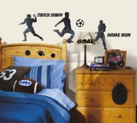 Sports Silhouettes Wall Decals - RMK1312SCS  - foto 2