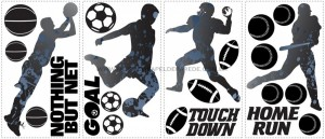 Sports Silhouettes Wall Decals - RMK1312SCS  - foto principal 2