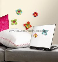 3D Wallpaper Flowers Wall Decals - ACC0002F3D