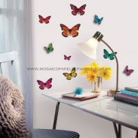 3D Butterflies Wall Decals - ACC0003B3D