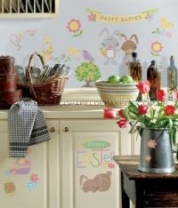 Happy Easter Wall Decals - RMK1138SCS