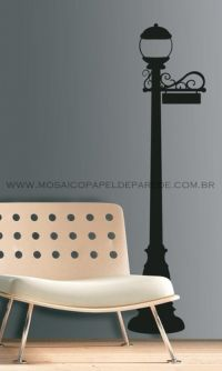 Lamps Post Wall Decal - RMK1625GM