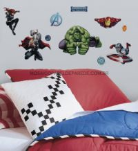 Avengers Assemble Wall Decal - RMK2242SCS
