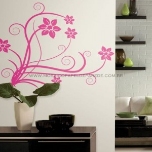 Deco Swirl Wall Decal - RMK1309GM  - foto principal 1