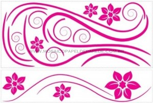Deco Swirl Wall Decal - RMK1309GM  - foto principal 2