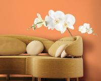 White Orchid Wall Decal - RMK1315GM