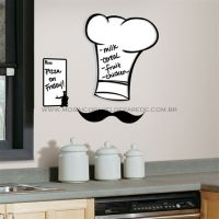 Chef's Hat Dry Erase Wall Decals - RMK1727GM
