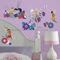 Best Fairy Friends Wall Decals - RMK2588SCS