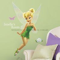 Tinker Bell Giant Wall Decal w/ Personalization - RMK1772GM