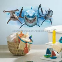 Finding Nemo Sharks Giant Wall Decal - RMK2558GM