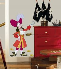 Captain Hook Giant Wall Decal - RMK1958GM