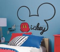All About Mickey Giant Wall Decal - RMK2560GM