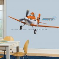 Dusty the Plane Giant Wall Decal - RMK2289GM