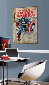 Captain America Comic Cover - RMK1646SLG