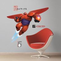 Big Hero 6 Baymax Giant Wall Decals - RMK2761GM