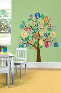 ABC Primary Tree Giant Wall Decal - RMK2057SML
