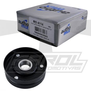 Polia Lisa Menor do Alternador para Gol / Parati / Golf / Polo - AuthoMix - RO4114